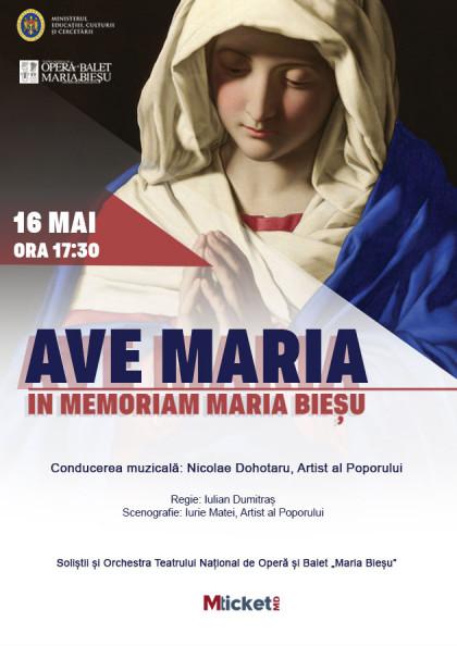 """""""Ave Maria"""" in memoriam Maria Biesu"""