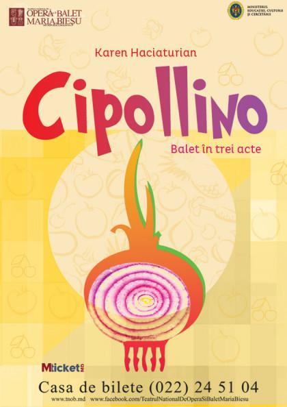 """""""Cipollino"""" balet in trei acte de Karen Haciaturian"""