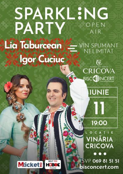 Sparkling Party alaturi de LIA TABURCEAN si IGOR CUCIUC