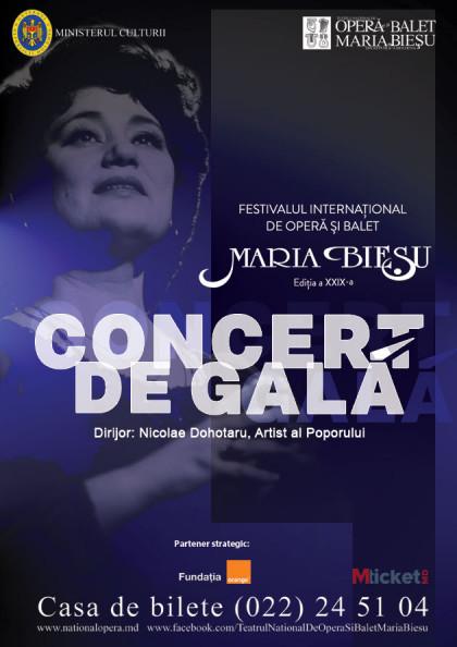 CONCERT DE GALA inchiderea festivalului 26 septembrie