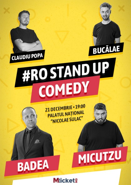 #RO STAND UP COMEDY