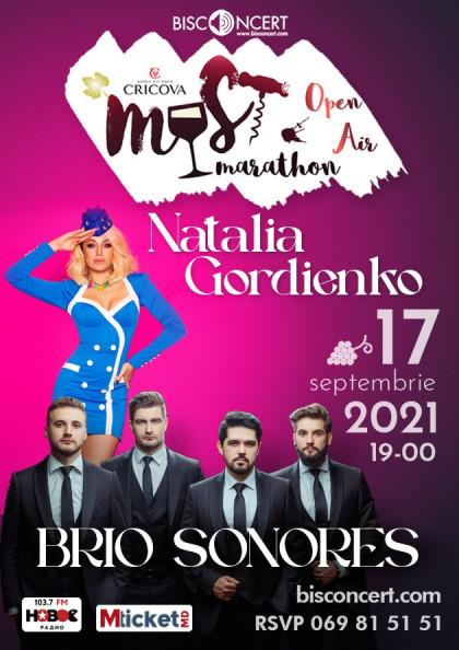 """MUST MARATHON alături de Natalia Gordienko si  formația """"Brio Sonores"""""""