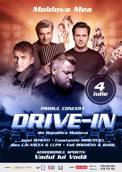 """Drive-in Concert """"Moldova Mea"""""""