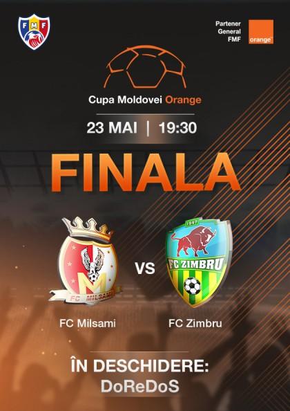 Finala Cupei Moldovei Orange