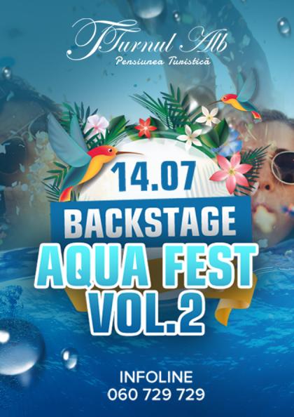 Backstage AQUA FEST Vol.2