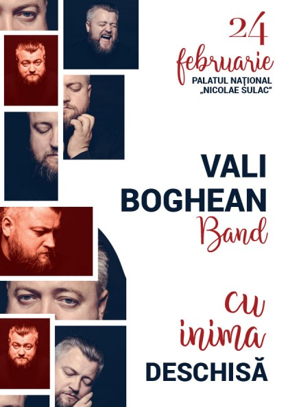 Cu inima deschisa Vali Boghean Band