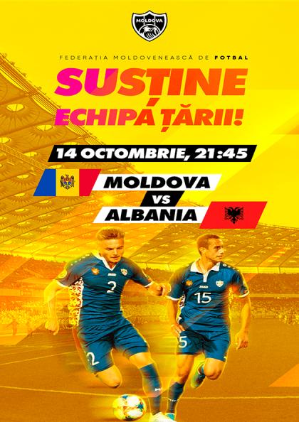 MOLDOVA - ALBANIA