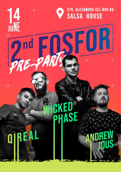 The 2nd FOSFOR Pre-Party