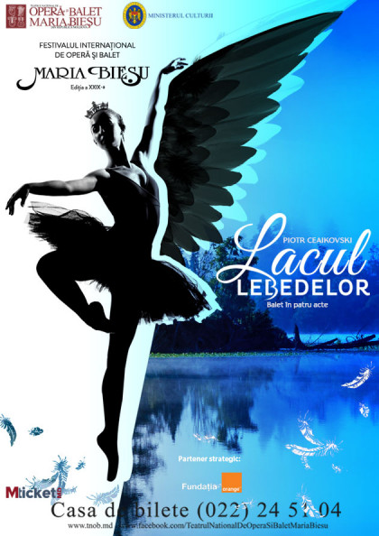"LACUL LEBEDELOR- Festivalul International de Opera si Balet ""Maria Biesu"""