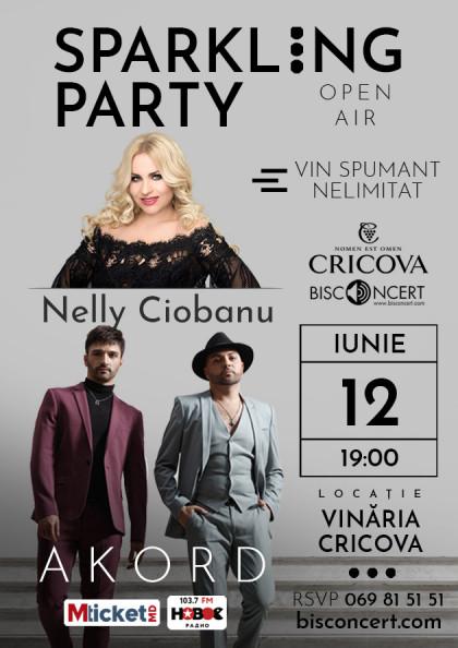 Sparkling Party alaturi de Nelly Ciobanu si trupa AKORD